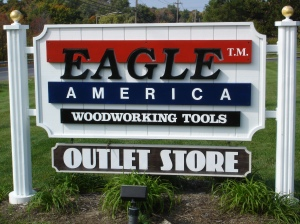 Eagle Store Sign